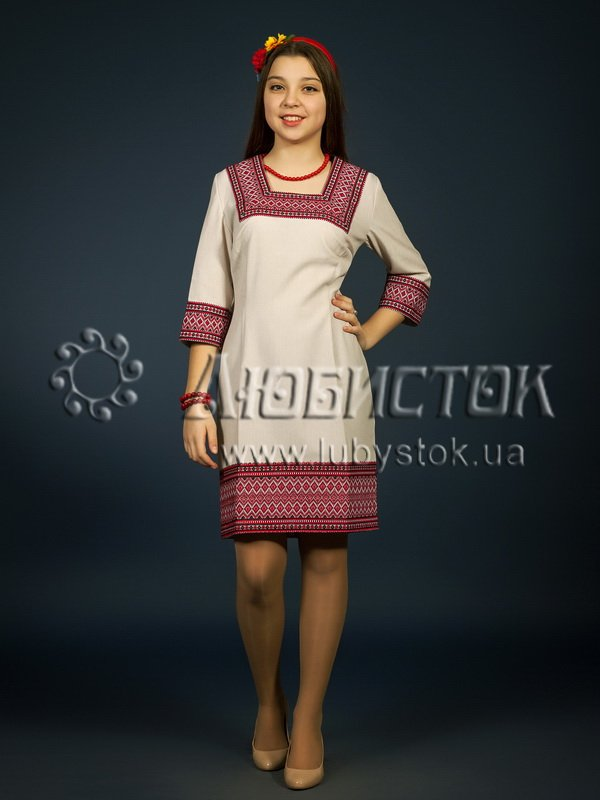 Buy The embroidered ZhP 98-85 fashionable dress
