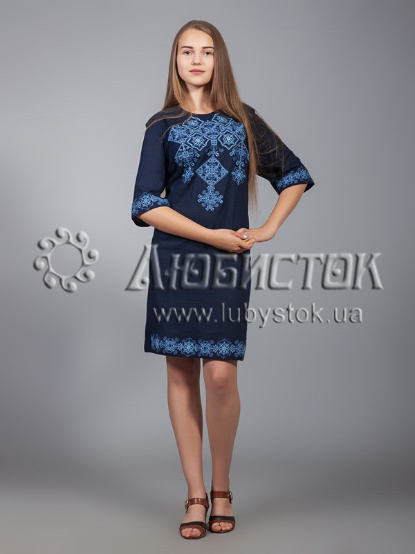 Buy The embroidered ZhPV 16-2 dress