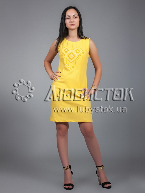 The embroidered ZhPV 17-2 dress