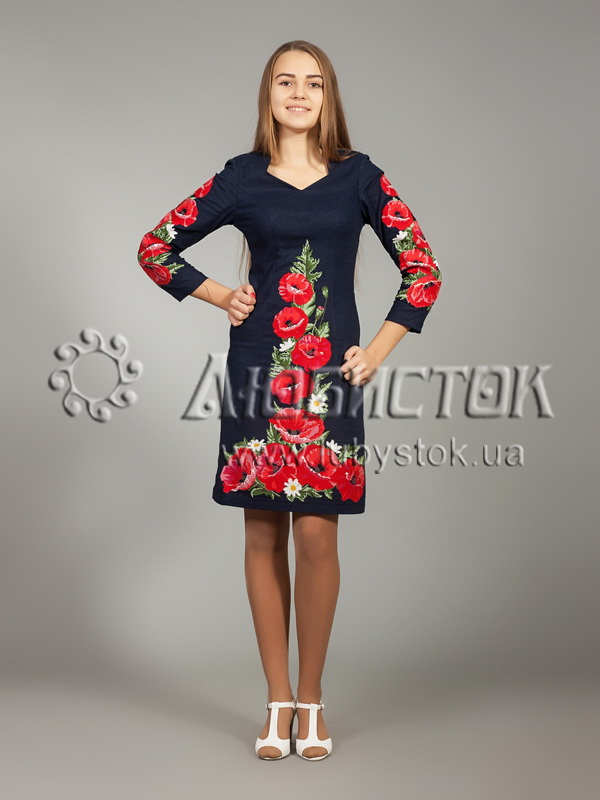 Buy The embroidered ZhPV 24-1 dress