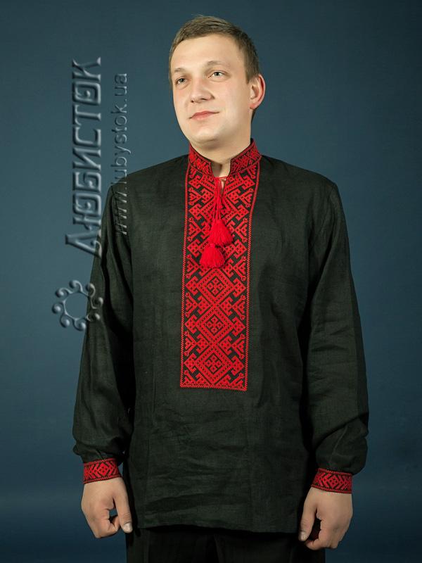 Купить Мужская рубашка-вышиванка ЧСВ 2-1