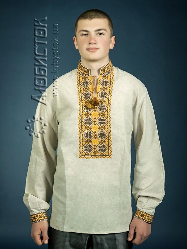Купить Мужская рубашка-вышиванка ЧСВ 4-6