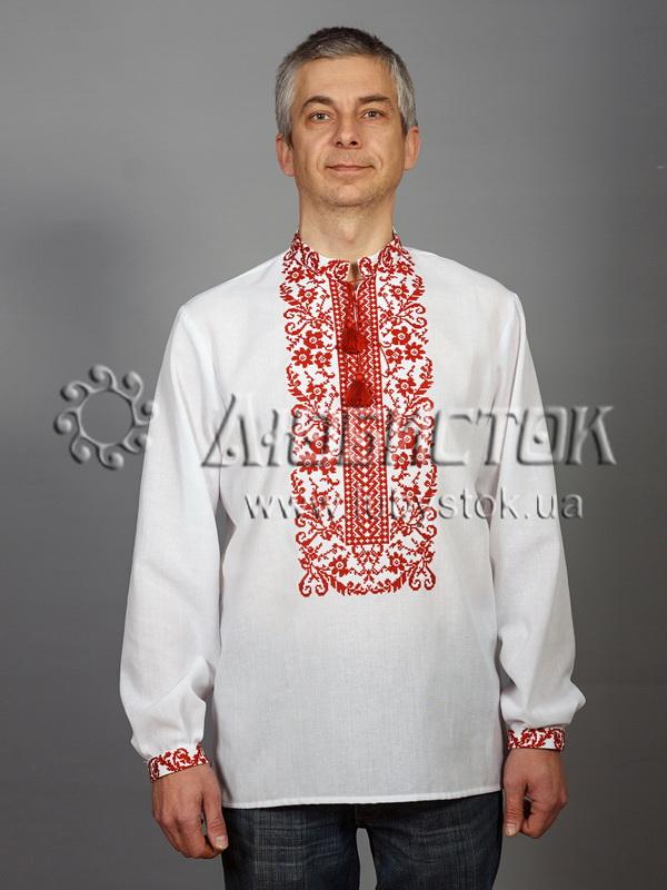 Купить Мужская рубашка-вышиванка ЧСВ 48-1