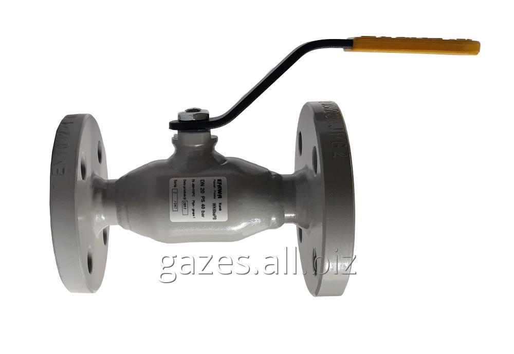 Buy The crane sharovy EFAR (EFAWA) WK 6va DN20 for a car of gas, LPG, propane-butane, GNS, AGZS the valve flange full bore with double compensation consolidation of a sphere.