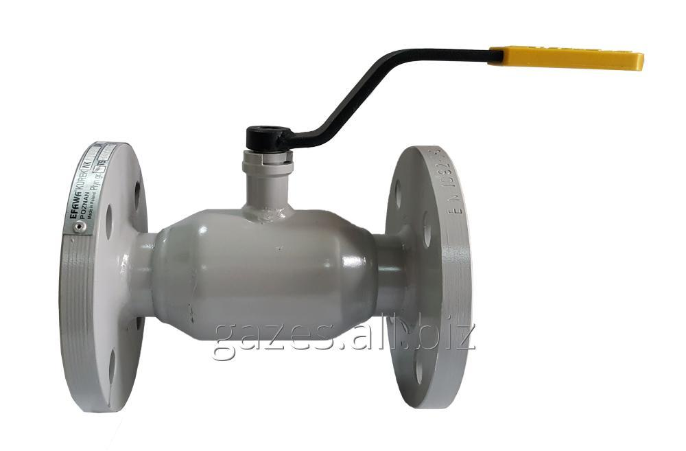 Buy The crane sharovy EFAR (EFAWA) WK 6va DN40 for a car of gas, LPG, propane-butane, GNS, AGZS the valve flange full bore with double compensation consolidation of a sphere.