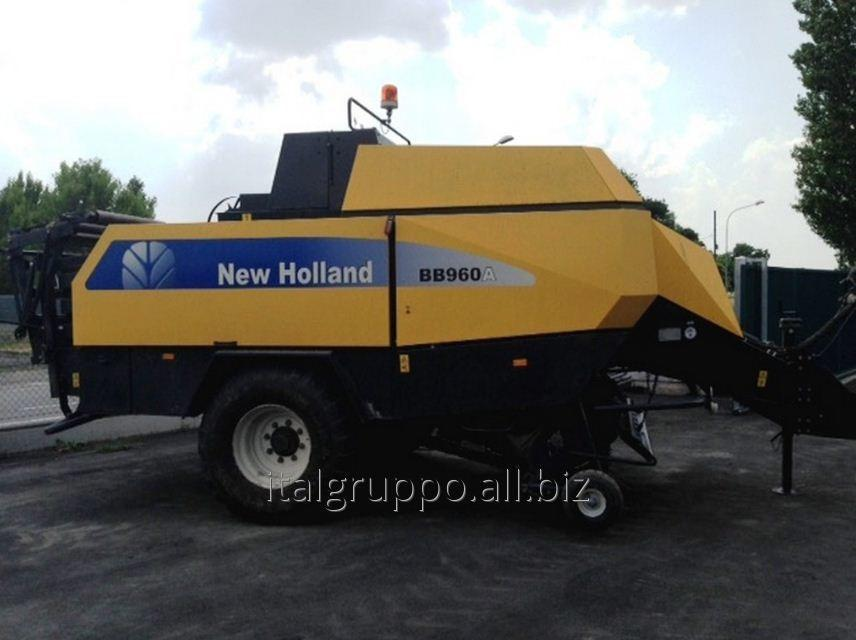 Tyukovy press sorter of NEW HOLLAND BIG BALER BB960A