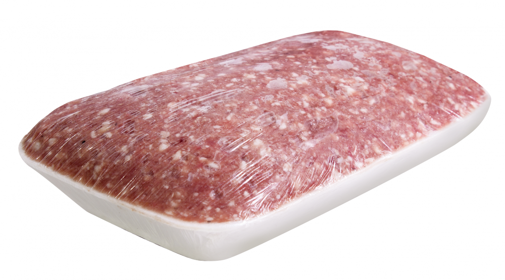 Фарш свино-говяжий Селянский ЛЮКС -подложка 1 кг