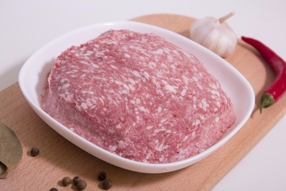 Фарш свино-говяжий Селянский  - м/блок 15 кг