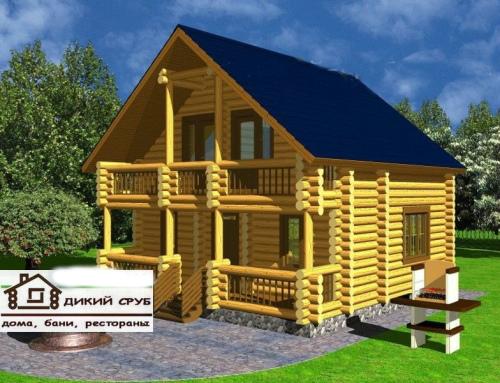 Проект дома площадью 105 м2