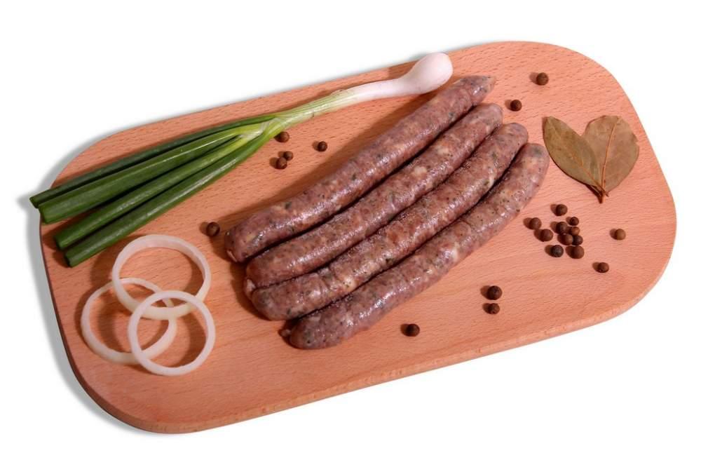 Колбаса Мергец тонкая в бараньем череве (ЗСВУ)