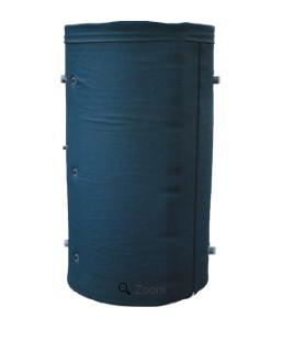 Аккумулирующая емкость с двумя теплообменниками АЕ-10-2Т-I