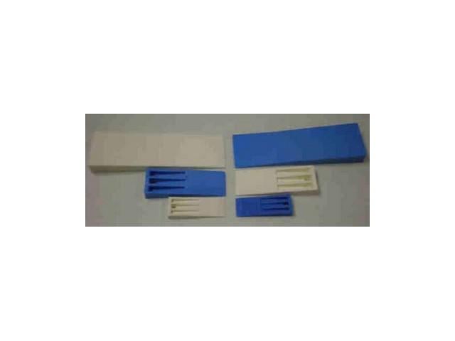Клинок для снятия изделия с формы Синий Средней гибкости Де Люкс