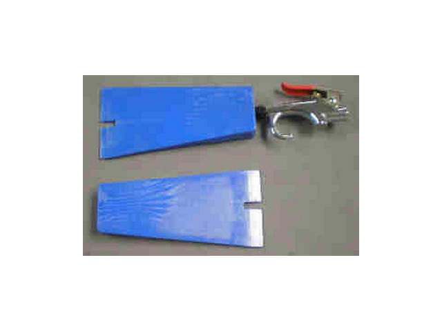 Клинок для снятия изделия с формы с воздушной инжекцией