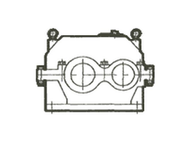 Редуктор цилиндрический горизонтальный одно-, двух- и трехступенчатый