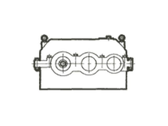 Редуктор цилиндрический горизонтальный двух- и трехступенчатый с зацеплением Новикова