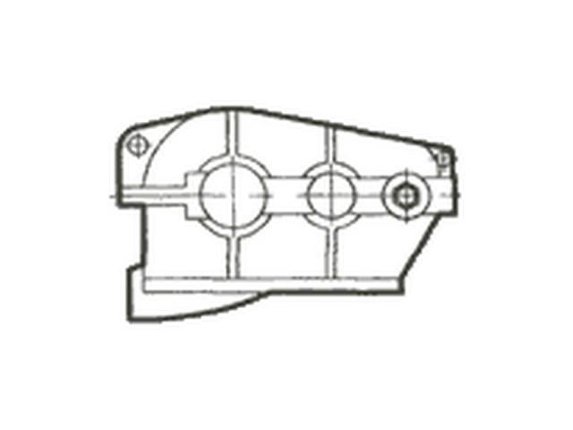 Редуктор цилиндрический горизонтальный крановый двух- и трехступенчатый