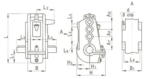 Купить Редуктор вертикальный крановой трехступенчатый типа ВКУ, ВКУ-М