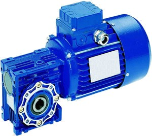 Geared motors with frequency output shaft rotation speed