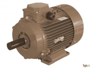 Електрически мотор с вградена термична защита