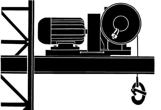 Лебедка электрическая с тяговым усилием Л-150
