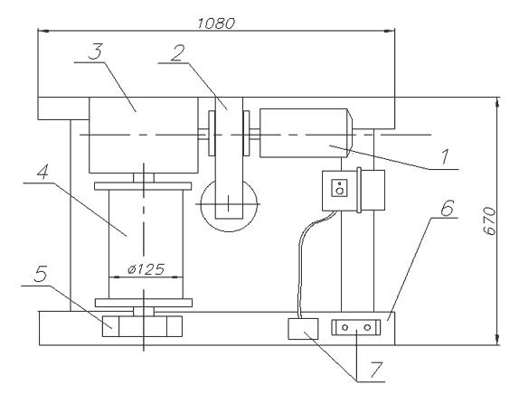 Лебедка электрическая ЛЭЧ–0,3–40