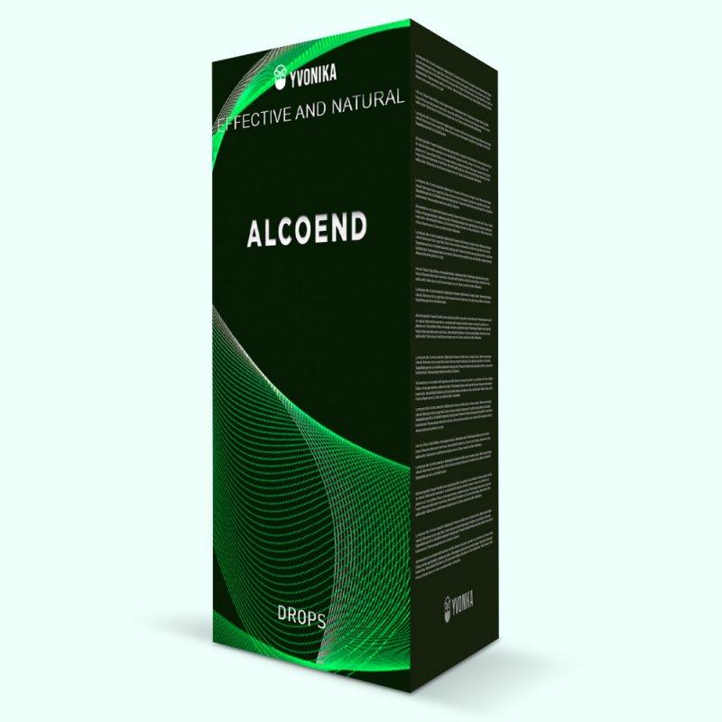 Капли AlcoEnd АлкоЭнд от алкогольной зависимости