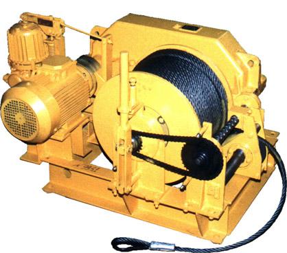 Лебедка электрическая ЛЭO–20М  с канатоукладчиком