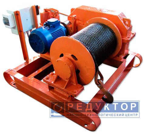 Лебедка електрическая ЛЕЦ-3-100