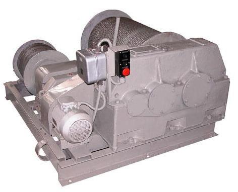 Лебедка электрическая маневровая двухбарабанная ТЛ-8Б