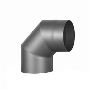 Купить Колено 2 на 45° Ø180 мм из черной стали