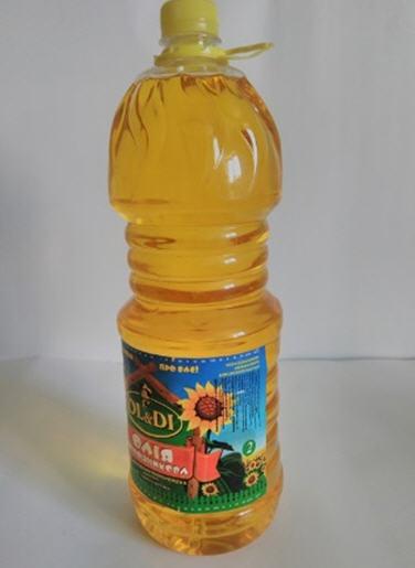 Купити Олія соняшникова рафінована 2л / 8шт