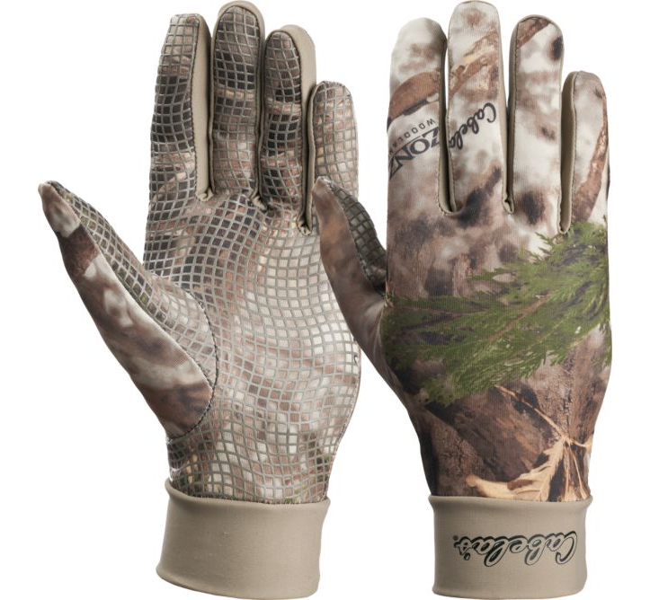 Перчатки для охоты легкие Cabela's Men's Camoskinz™ II Unlined Gripper-Dot Gloves