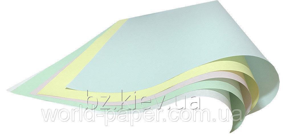 Самокопирующая бумага Giroform в пачках CB, А3 (30,50х43 см), Голубой