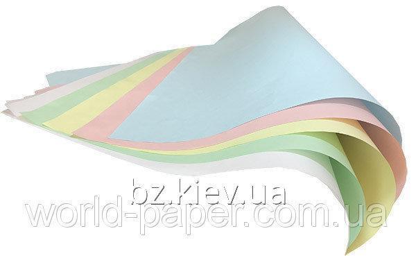 Самокопирующая бумага Reacto SELFCONTAINED SС в пачках А3 (30,50х43 см), Зеленый