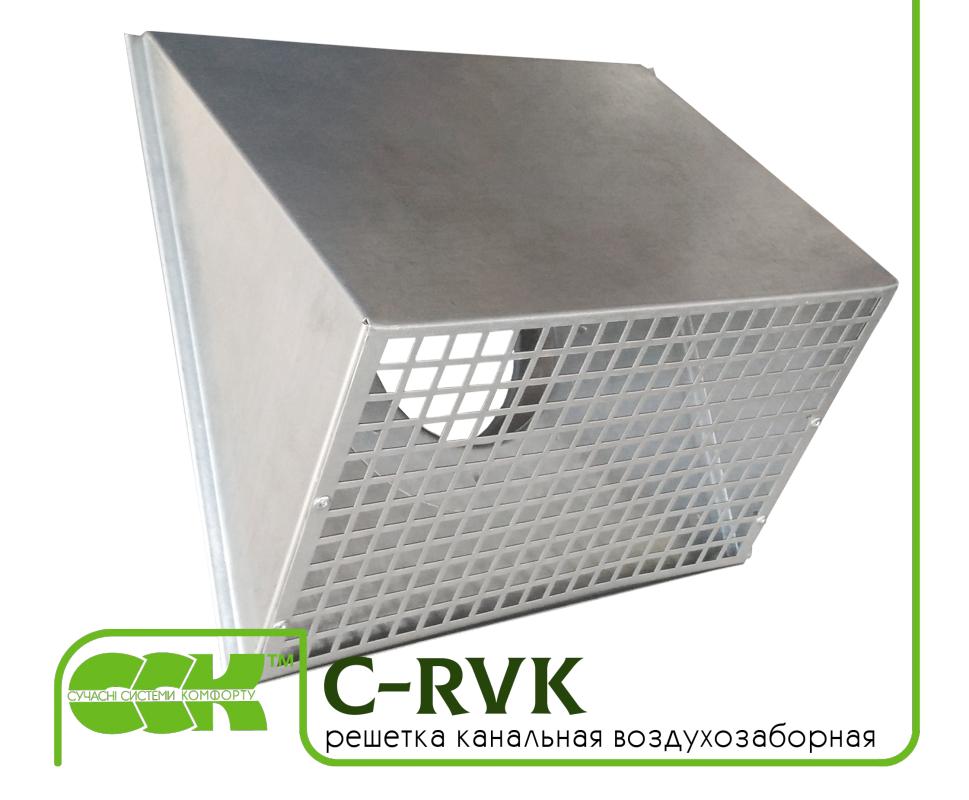 Решетка C-RVK-160 воздухозаборная для круглых каналов