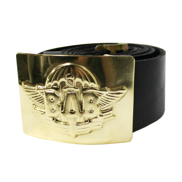 Buy Belt of airborne forces leather (a dome with a sword) black 10002576