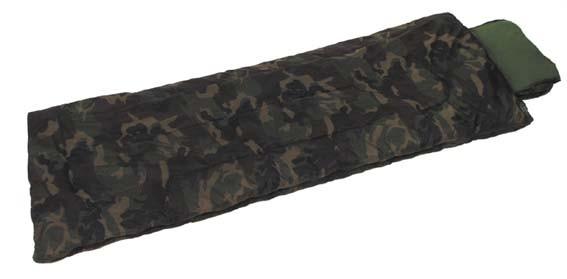 Спальный мешок двухслойный MFH woodland 31642T