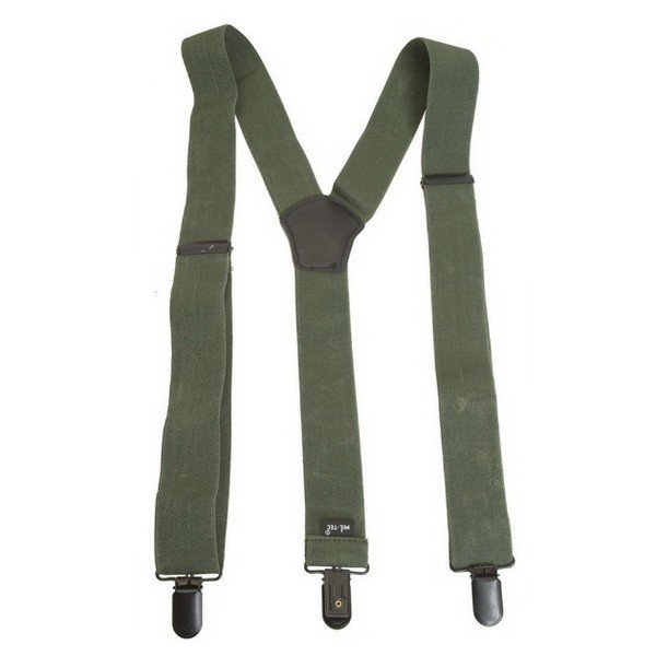 Buy MIL-TEC braces an olive with a clip 13184001