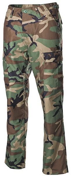 Тактические брюки BDU US woodland MFH 01294T