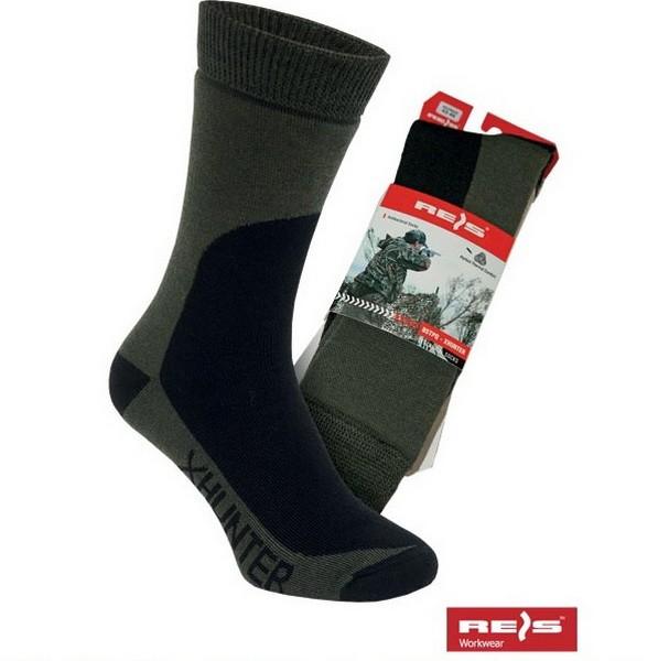 Buy Socks men's BSTPQ-XHUNTER Reis olive 10002622