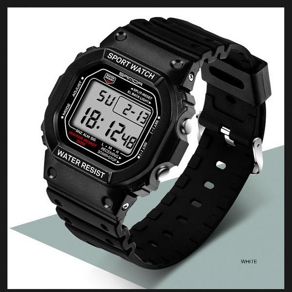 Часы спортивные Sanda Challenge Water Resistant 30 m white TGTW-06-white