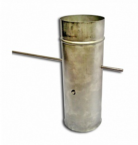 Ø 120 mm throttle for chimneys made of stainless steel