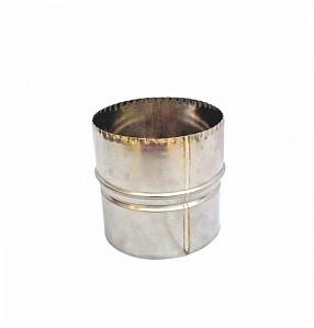 Купить Переходник Ø115/120 мм для дымоходов из нержавеющей стали