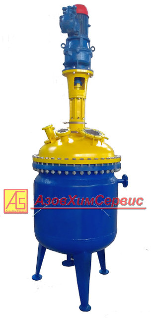 Stainless steel reactor 0,4m3