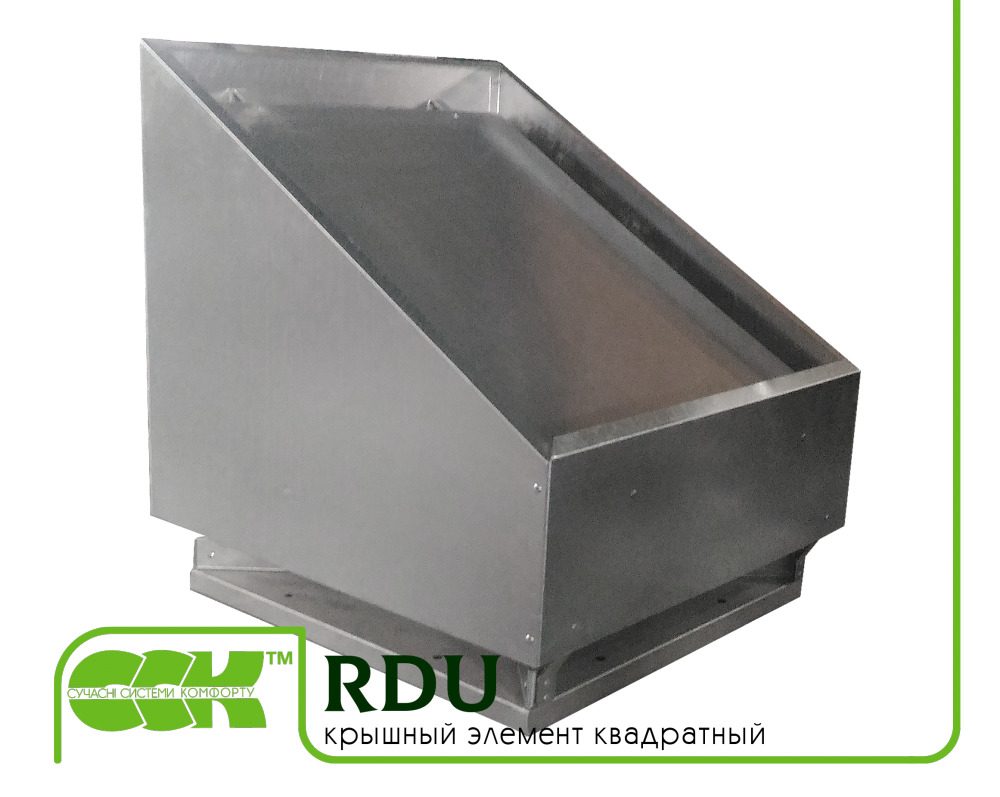 Buy Square roof element RDU-1000 ZS