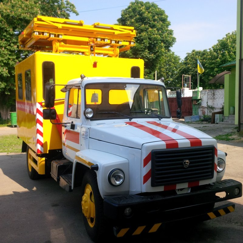 Buy The breakdown vehicle for repair of contact networks AT-70M-041 on GAZ