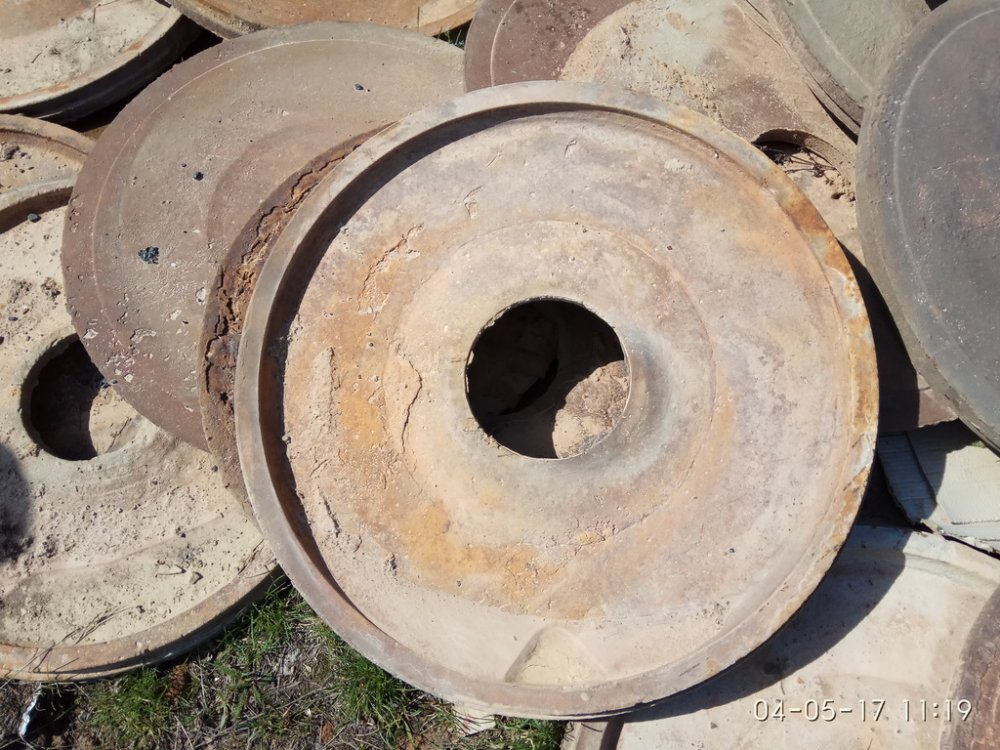 Диск защитный насоса грунтового  дм.785х200-50мм