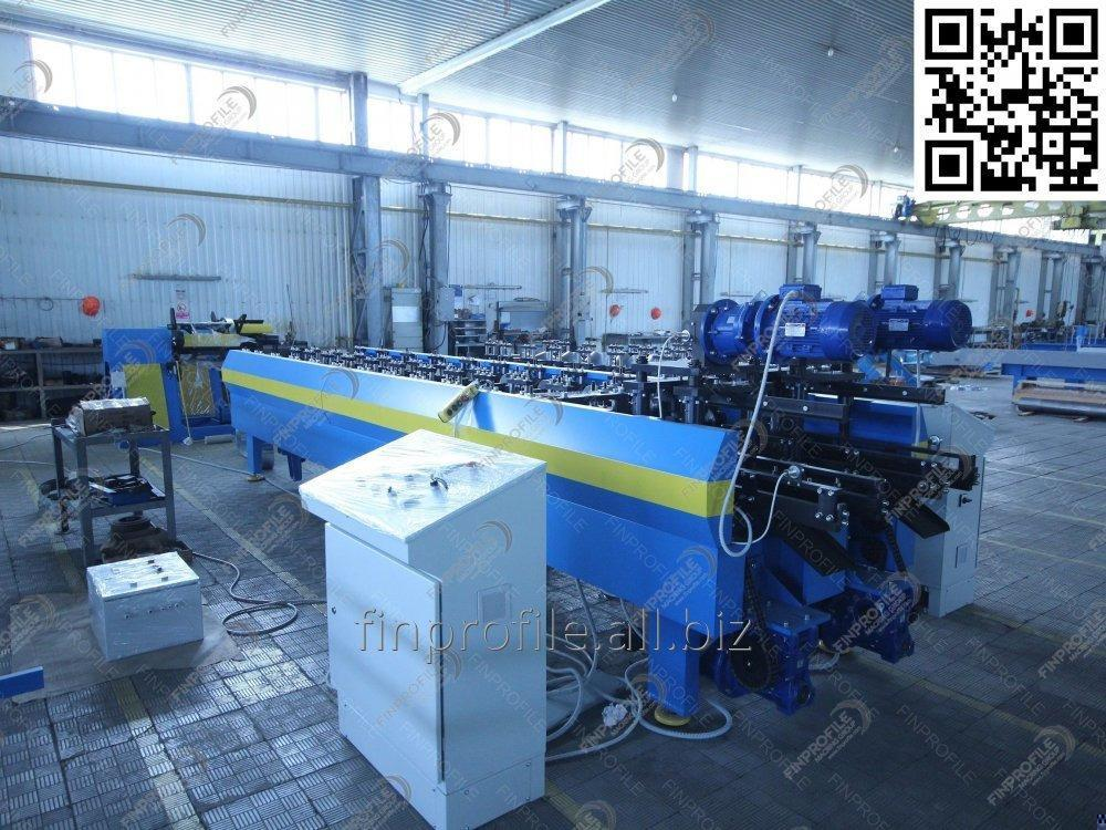Automation line for the production of profiles for gypsum-pasteboard installation (Line U;UD)