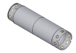 Buy Pipe upsetting two-layer ø 820 of mm L=4000