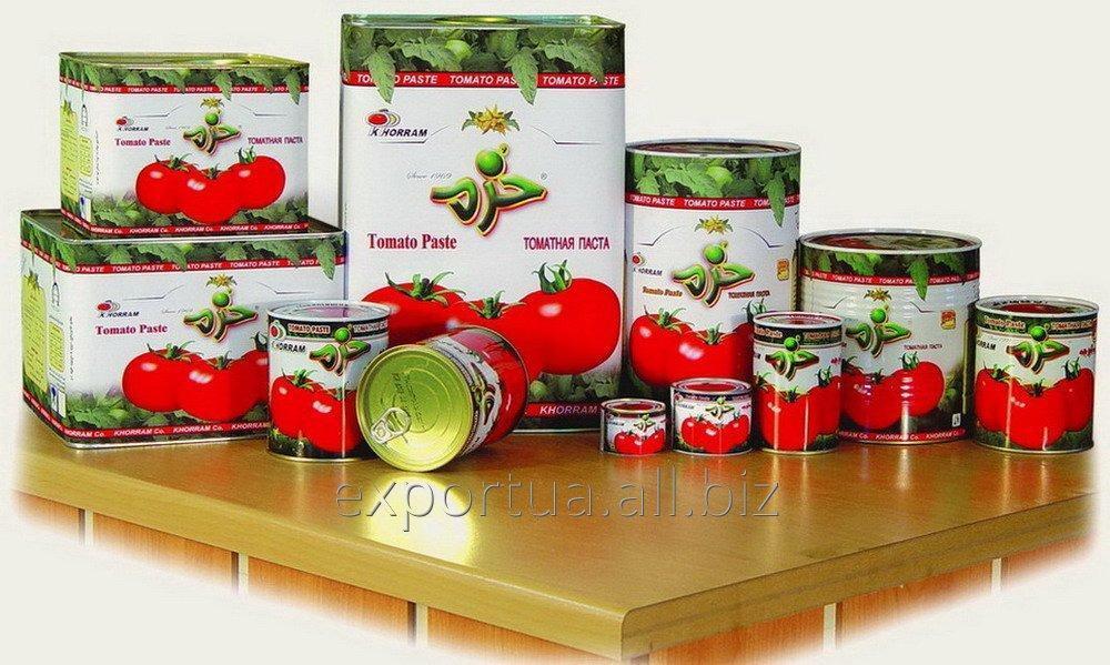 La pâte de tomate dans des fûts métalliques à l'intérieur avec des sacs aseptiques (220 kg), Brix34-36